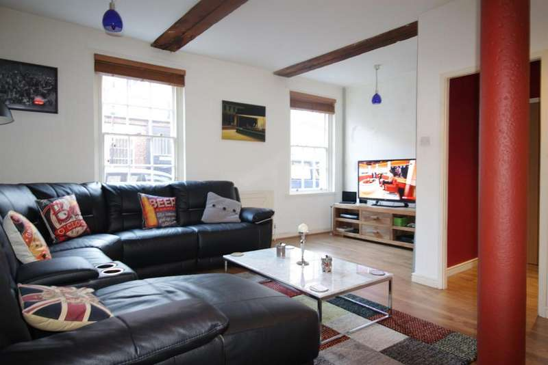 1 Bedroom Ground Flat for sale in St. Bride Street, Liverpool, L8 7PL