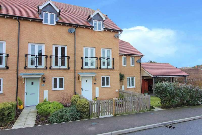 3 Bedrooms Terraced House for sale in Greystones, Willesborough, Ashford