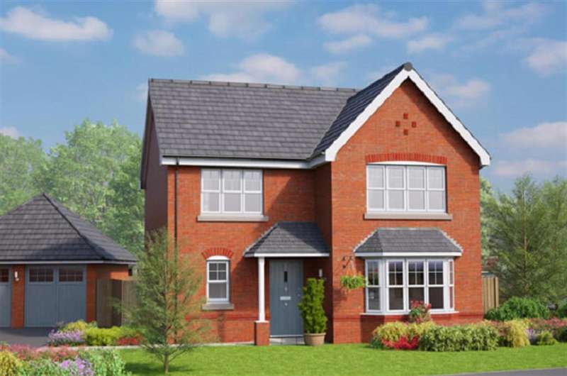 4 Bedrooms Detached House for sale in The Chatsworth, Erddig Place, Wrexham LL11