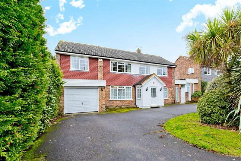 4 Bedrooms Detached House for sale in Salisbury Close, Worcester Park, KT4