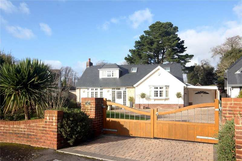 4 Bedrooms Detached Bungalow for sale in Rothesay Drive, Highcliffe, Dorset, BH23