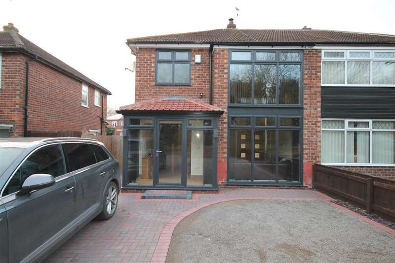 3 Bedrooms Semi Detached House for sale in Faverdale Road, Darlington