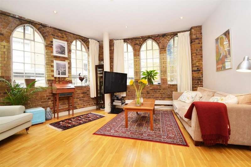 2 Bedrooms Apartment Flat for sale in Leonard Street, Shoreditch EC2A