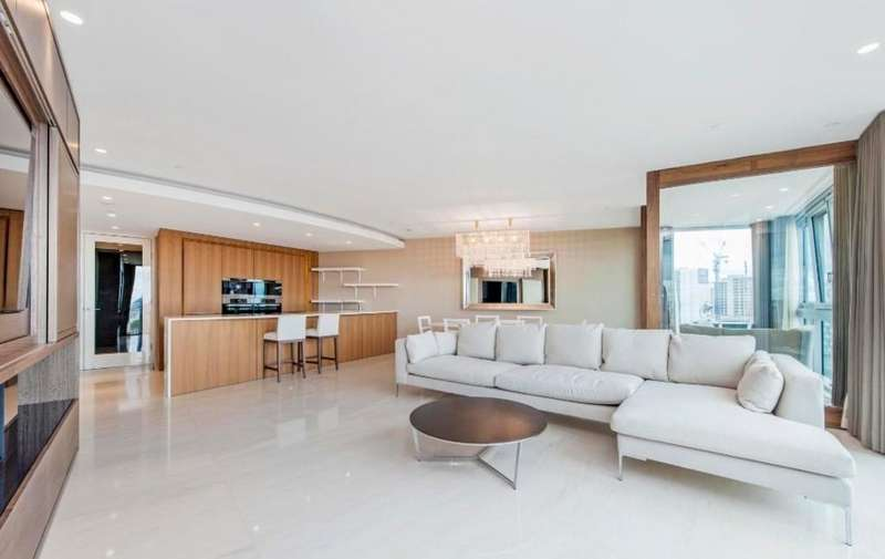 3 Bedrooms Apartment Flat for sale in The Tower, 1 St George Wharf