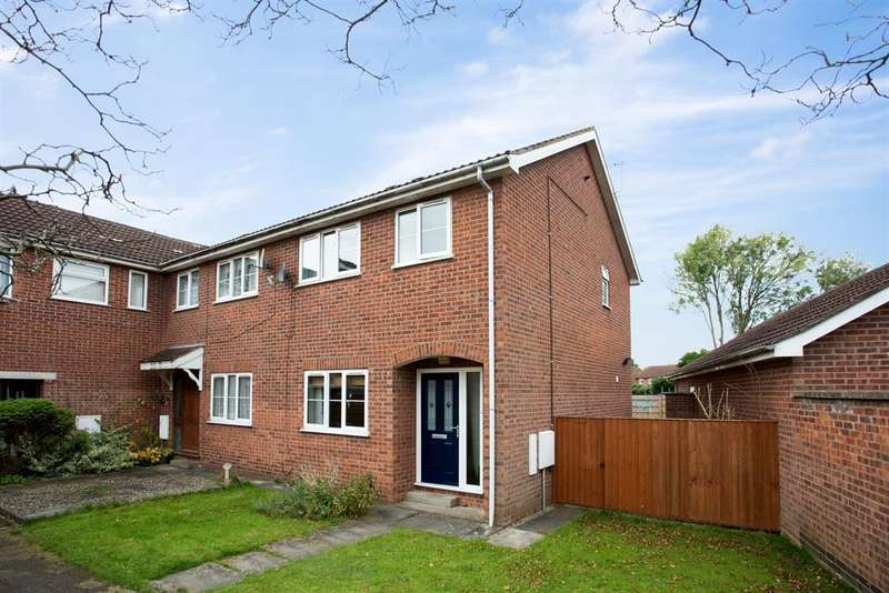3 Bedrooms End Of Terrace House for sale in Melcombe Avenue, Strensall, York, YO32 5BA