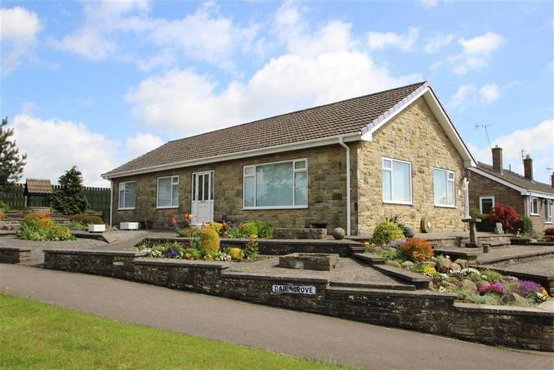 3 Bedrooms Detached Bungalow for sale in Dale Grove, Leyburn, North Yorkshire