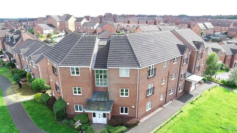 2 Bedrooms Flat for sale in Moorefields View, Norton, Stoke-On-Trent, ST6 8GU