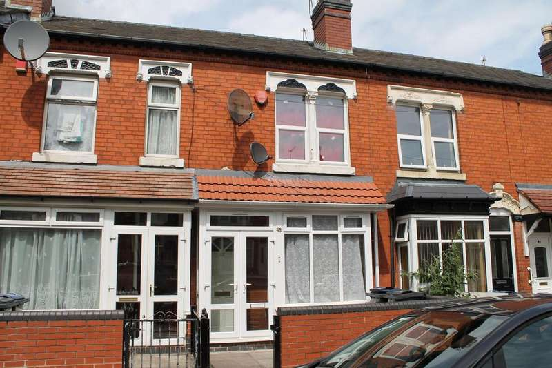 3 Bedrooms Terraced House for sale in Greenhill Road, Handsworth, Birmingham, B21 8DY