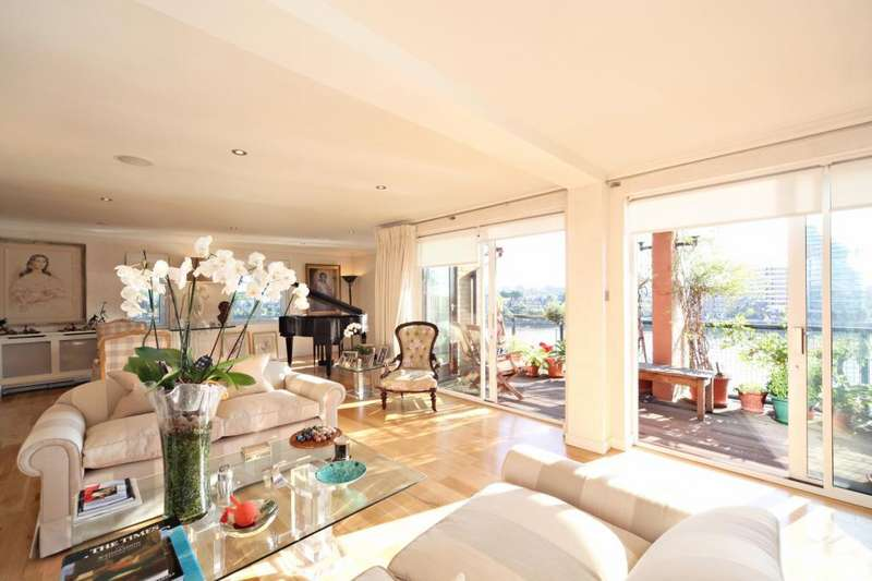 4 Bedrooms Flat for sale in Milton Court, Carrara Wharf, Fulham, London, SW6