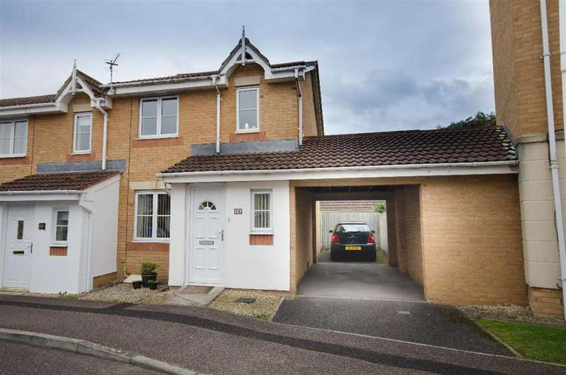 3 Bedrooms End Of Terrace House for sale in Corinum Close, Emersons Green, Bristol, BS16 7HW