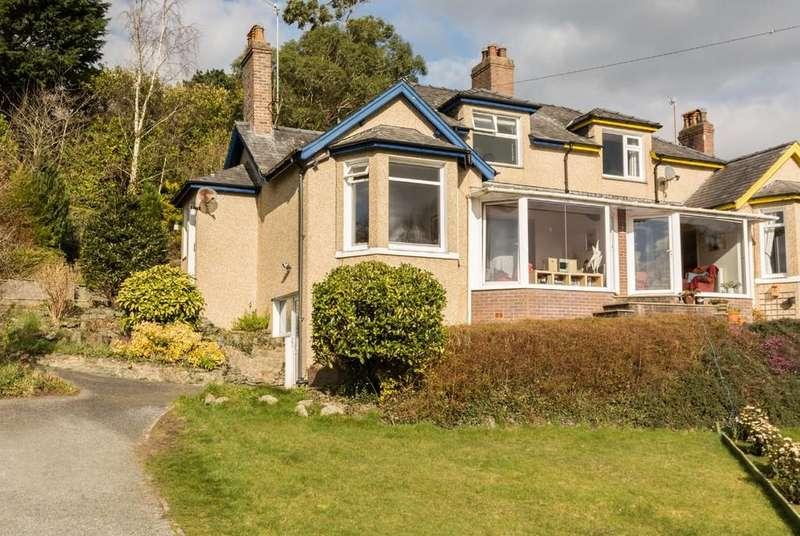 4 Bedrooms Semi Detached House for sale in Pentraeth Road, Menai Bridge, North Wales