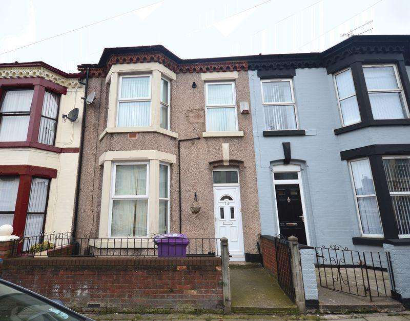 3 Bedrooms Terraced House for sale in Cecil Street, Wavertree