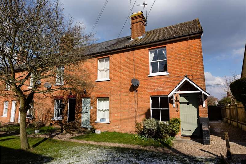 2 Bedrooms End Of Terrace House for sale in Mildmay Terrace, Hartley Wintney, Hook, RG27