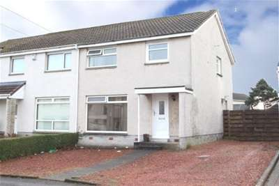 3 Bedrooms Semi Detached House for rent in Darnley Drive, Kilmarnock