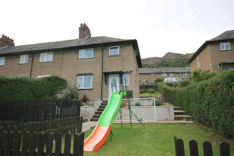 3 Bedrooms Semi Detached House for sale in 22 Seiriol Road, Penmaenmawr
