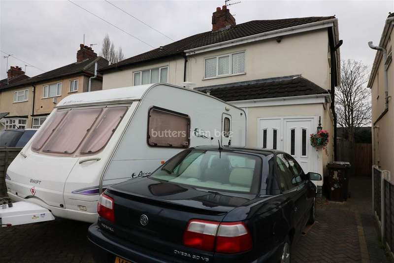 3 Bedrooms Semi Detached House for sale in Ringwood Road, Bushbury, Wolverhampton