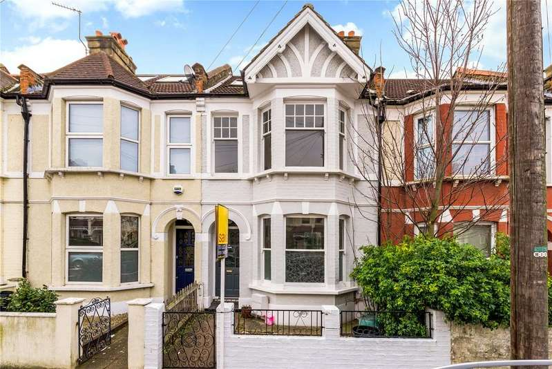 4 Bedrooms Terraced House for sale in Eswyn Road, London, SW17