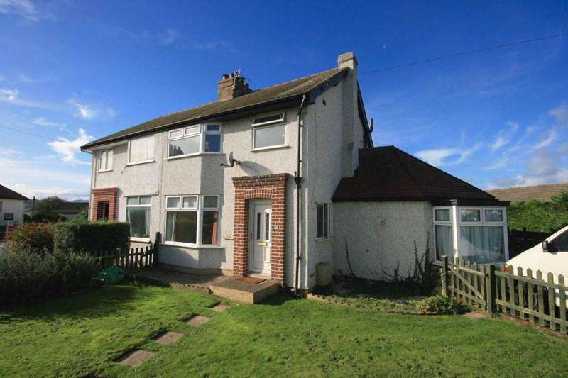 3 Bedrooms Semi Detached House for sale in Park Drive, Deganwy