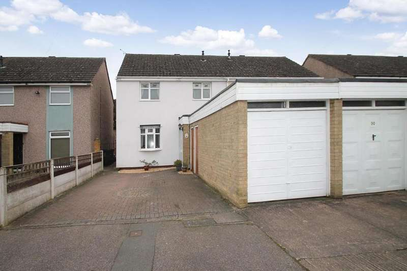 3 Bedrooms Semi Detached House for sale in Gilbert Road, Lichfield