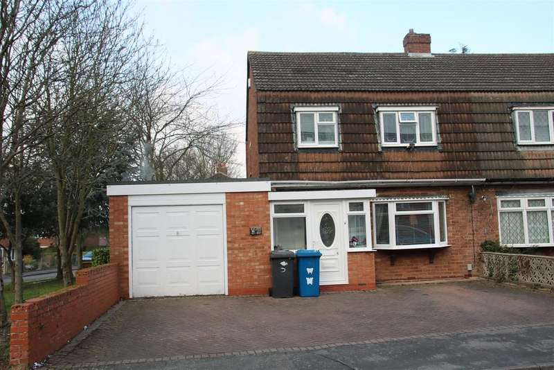 3 Bedrooms Semi Detached House for sale in Macgregor Crescent, Tamworth