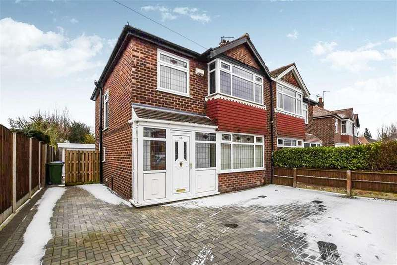 3 Bedrooms Semi Detached House for sale in Arnesby Avenue, Sale, M33