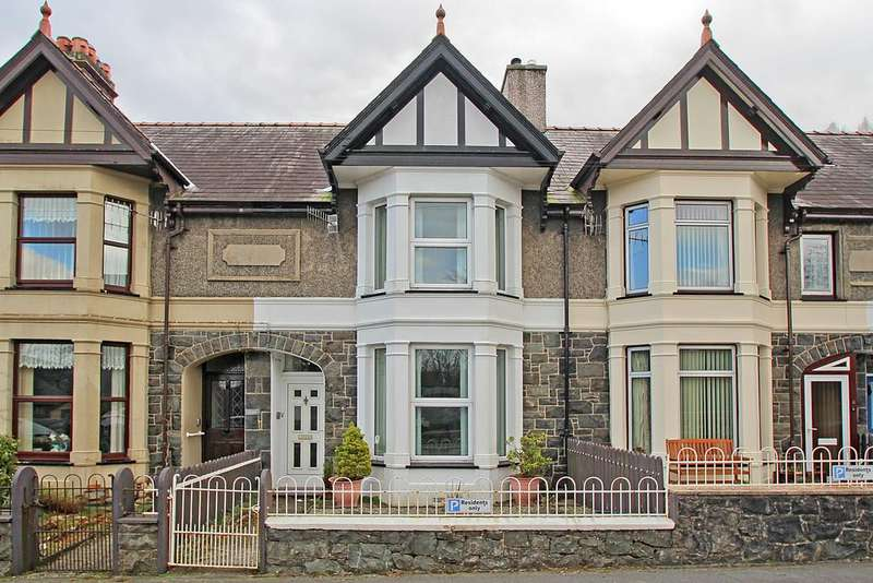 2 Bedrooms Terraced House for sale in York Terrace, Llanberis, North Wales