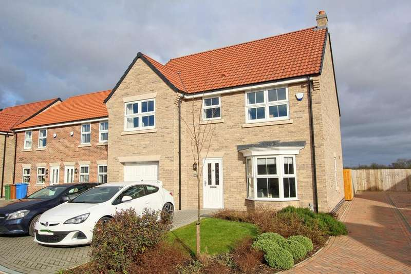 5 Bedrooms Detached House for sale in Wentworth Close, Gilberdyke, HU15