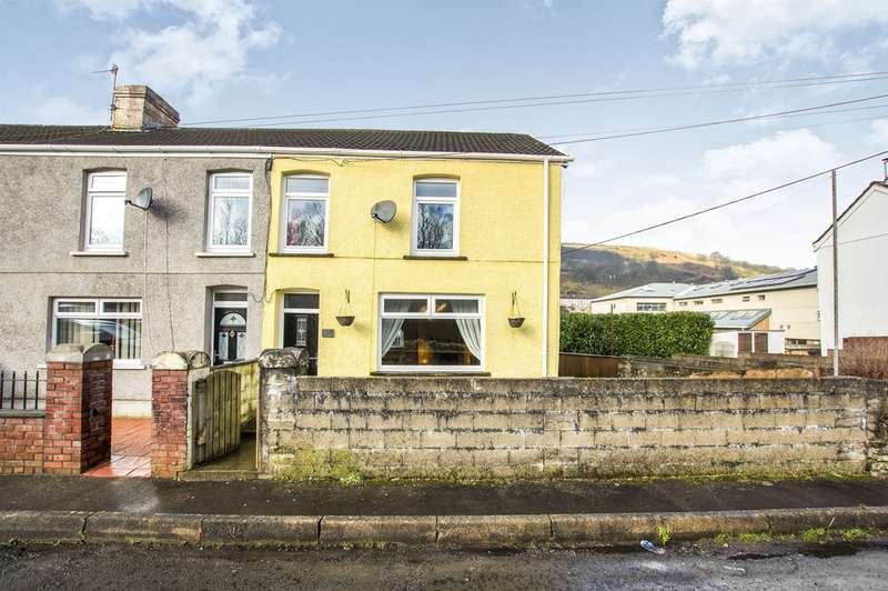 3 Bedrooms End Of Terrace House for sale in Coegnant Road, Maesteg