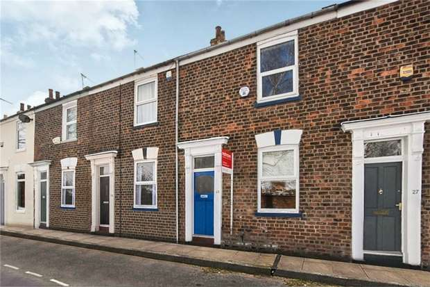 2 Bedrooms Terraced House for sale in Railway Terrace, Holgate, YORK