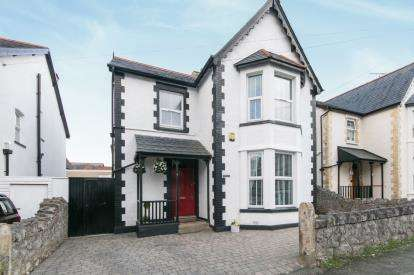 4 Bedrooms Detached House for sale in Llewelyn Road, Colwyn Bay, Conwy, ., LL29