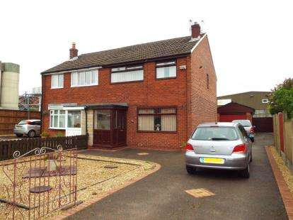 3 Bedrooms Semi Detached House for sale in Cale Lane, Aspull, Wigan, Greater Manchester, WN2
