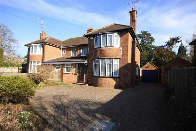 3 Bedrooms Semi Detached House for sale in Uppingham Road, Oakham, Rutland