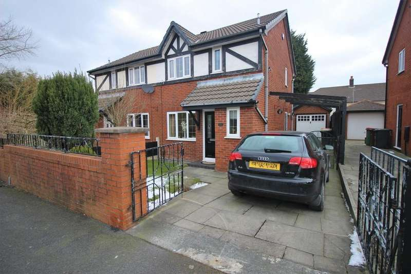 3 Bedrooms Semi Detached House for sale in Ribbleton Hall Drive, Preston