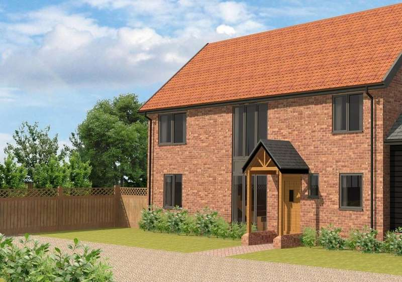 3 Bedrooms Detached House for sale in Fullers Field, Swan Lane, Westerfield, Ipswich, IP6 9AX