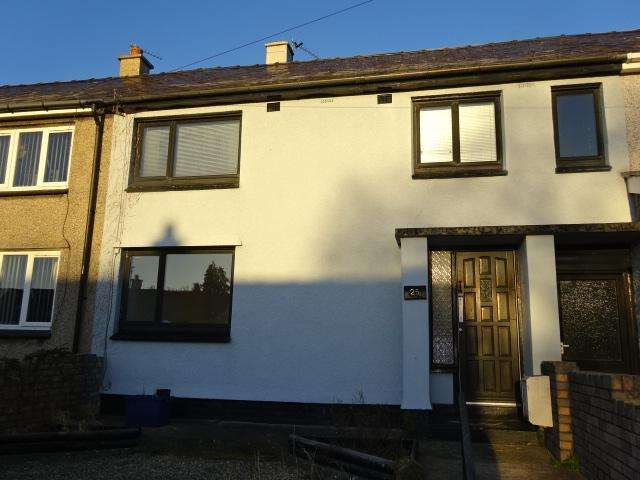 4 Bedrooms Terraced House for sale in QUEENS AVENUE, BANGOR LL57