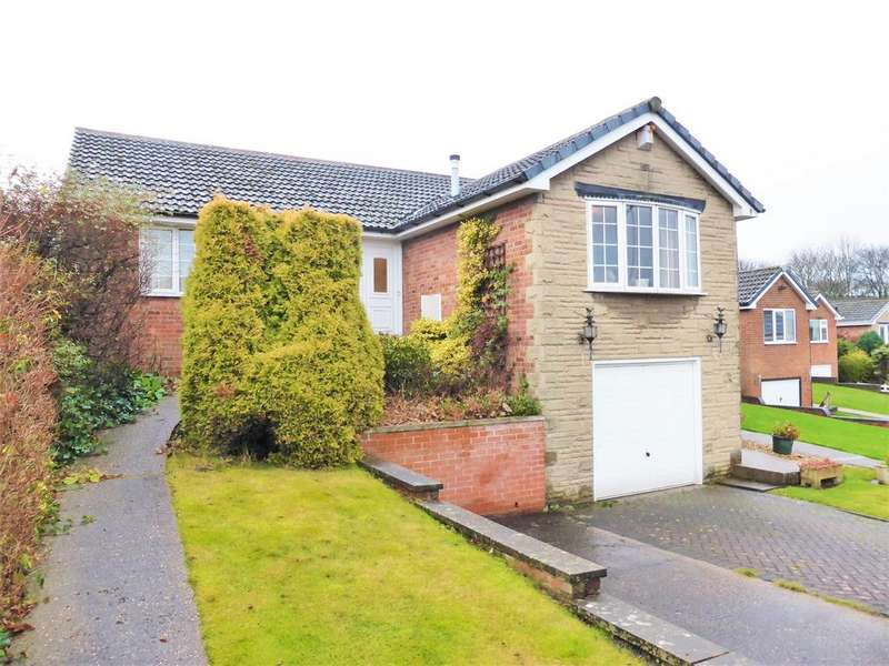 2 Bedrooms Detached Bungalow for sale in Boswell Close, High Green, Sheffield, S35 4FD