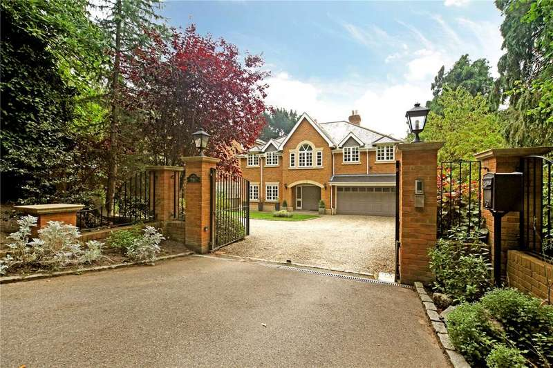 6 Bedrooms Detached House for sale in Knowle Hill, Virginia Water, Surrey, GU25