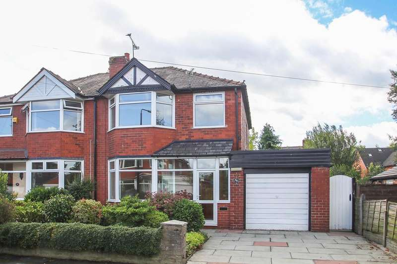3 Bedrooms Semi Detached House for sale in Wyndcliffe Drive, Flixton, Manchester, M41