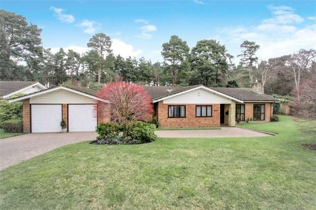 3 Bedrooms Detached Bungalow for sale in Spinney Close, COBHAM, Surrey