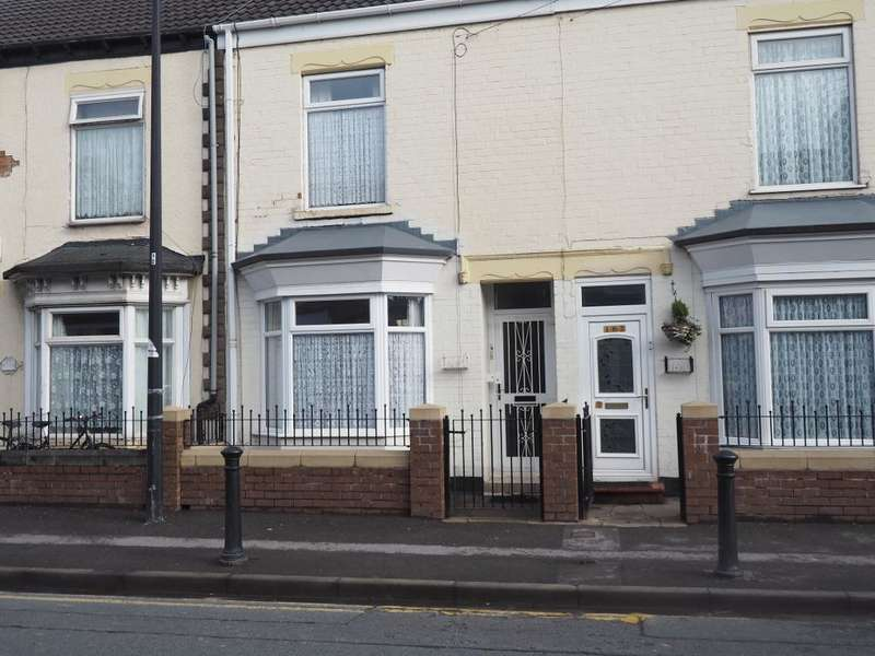 2 Bedrooms Terraced House for sale in Newbridge Road, Hull, HU9 2NU