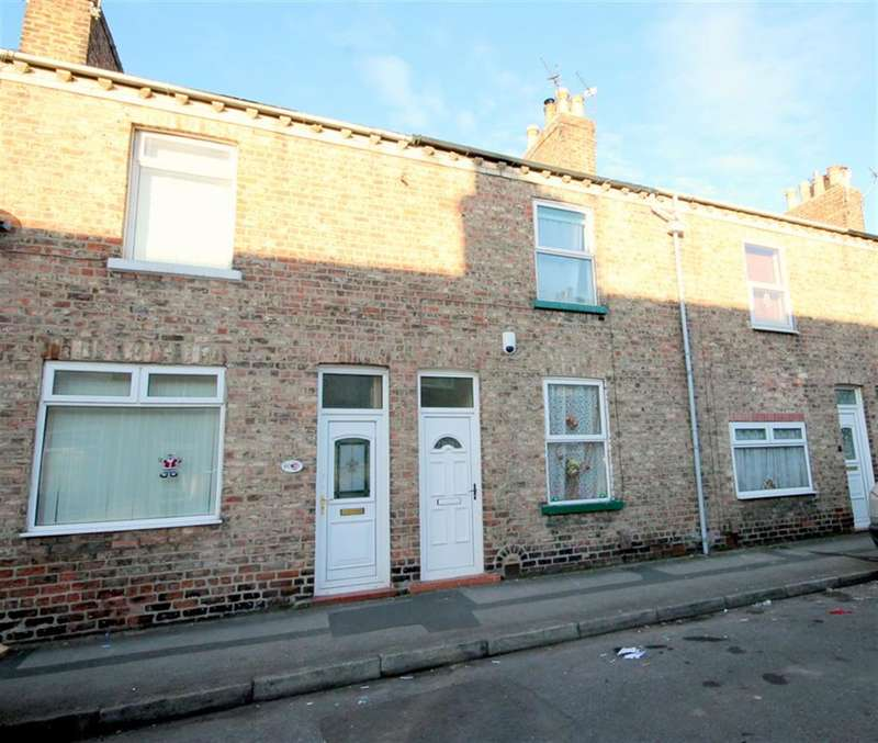 2 Bedrooms Terraced House for sale in Milner Street, York, YO24 4NH