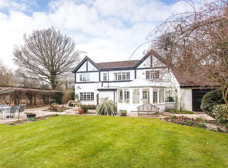 5 Bedrooms Detached House for sale in Heathbourne Road, Bushey Heath, Hertfordshire, WD23