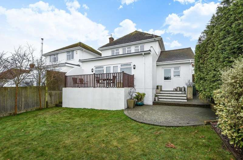 4 Bedrooms Detached House for sale in Rodmell Avenue Saltdean East Sussex BN2