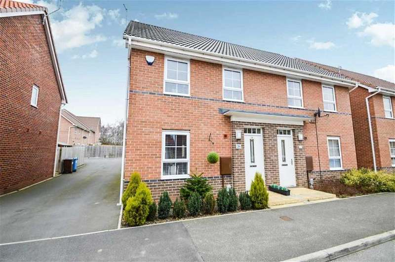 3 Bedrooms Semi Detached House for sale in Boundary Way, West Hull, Hull, HU4
