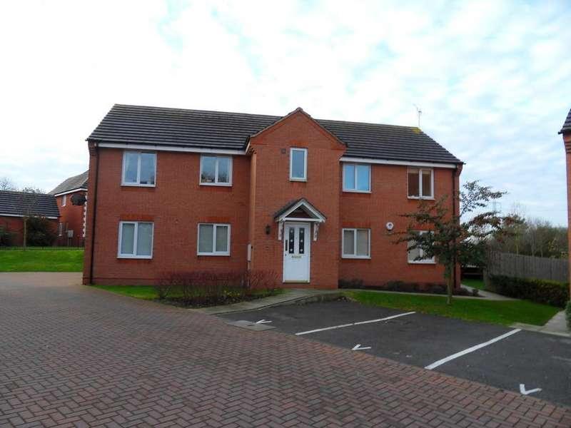 2 Bedrooms Flat for rent in Barons Close, Kirby Muxloe