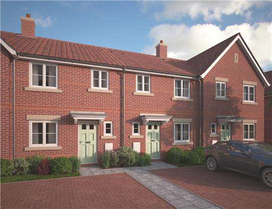 3 Bedrooms Terraced House for sale in Plot 2, The Avebury, Cotswold Grange, Alma Road, CHELTENHAM, GL51 3NB