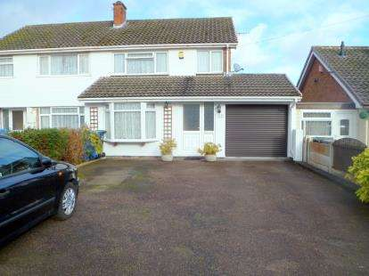 4 Bedrooms Semi Detached House for sale in Holly Lane, Great Wyrley, Walsall, Staffordshire