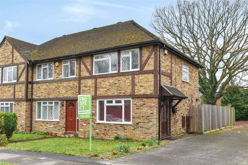 3 Bedrooms End Of Terrace House for rent in Christie Close, Lightwater, Surrey, GU18