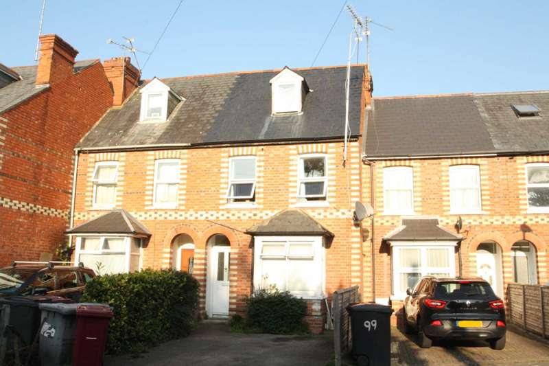 4 Bedrooms Terraced House for sale in St Peters Road, Reading