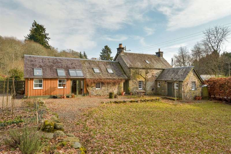 3 Bedrooms Detached House for sale in West End Cottage, Butterstone, Dunkeld, Perthshire, PH8